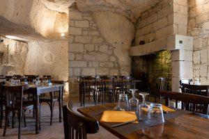 Restaurant troglodyte Montsoreau