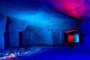 éclairage lumière de cave