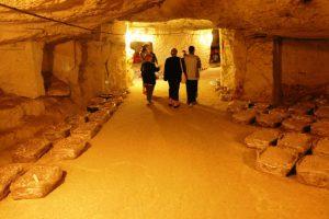 parcours de visite en cave